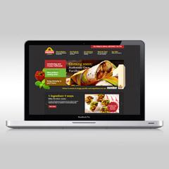 Mission Foodservice website