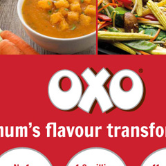 Oxo pull up banner