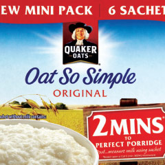 Quaker advert