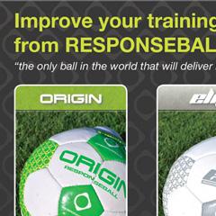 Responseball online advert