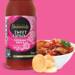 Sharwoods advert